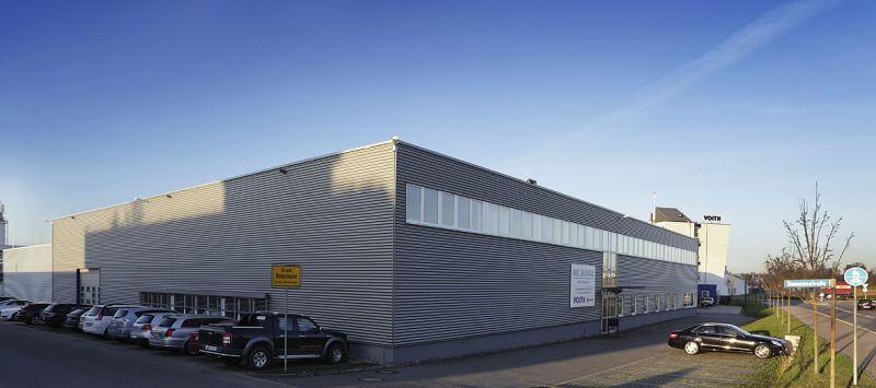 Micromat Spannhydraulik Gebäude in Rutesheim